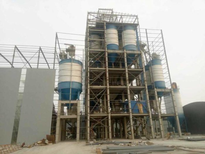 tile adhesive manufacturing plants