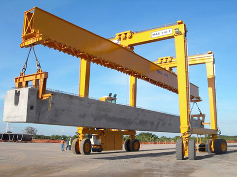 competitive Weihua rubber tired gantry crane sale